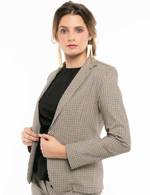 Blazer Vougue fantasia a quadretti