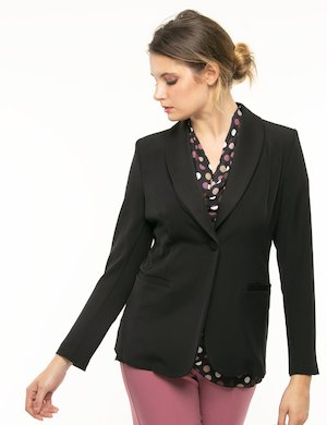 Blazer Vougue collo a scialle