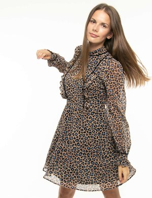Vestito Toy G leopardato