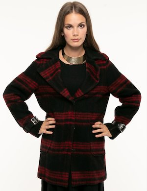 Cappotto Guess lana cotta