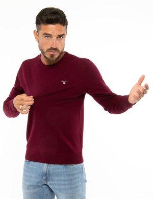 Maglione Gant con logo ricamato