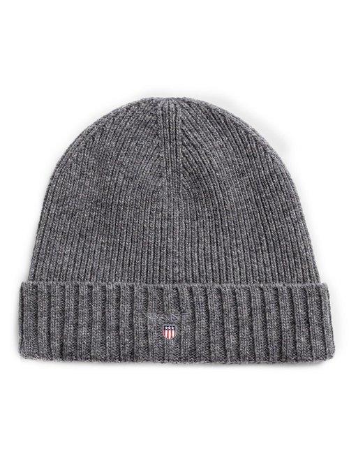 Cappello Gant con risvolto - Grigio