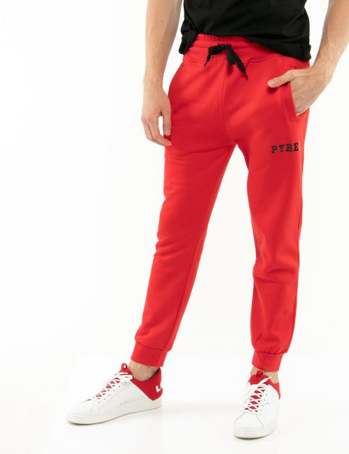 Pantalone Pyrex in cotone - Rosso