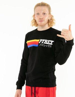 Felpa Pyrex con logo rainbow