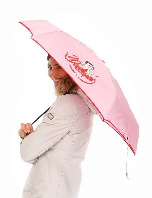 Ombrello Love Moschino Betty Boop - Rosa