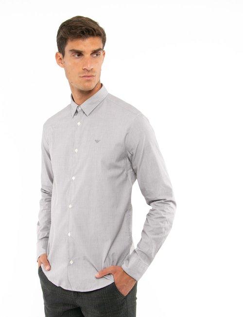 Camicia Emporio Armani slim fit - Grigio