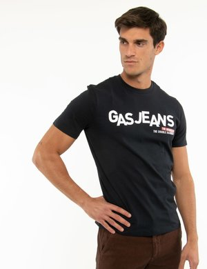 T-shirt Gas con stampa