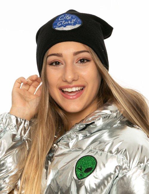 Cappello Chiara Ferragni in lana - Nero