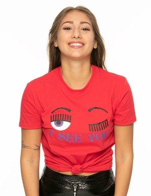 T-shirt Chiara Ferragni stampata