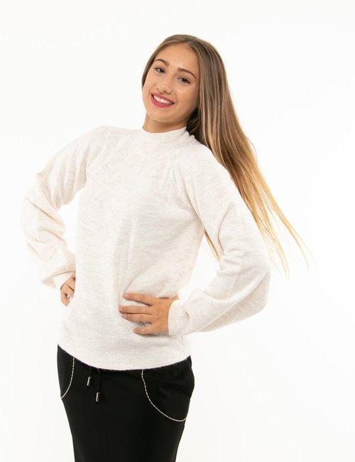 Maglione Pepe Jeans maniche large - Panna