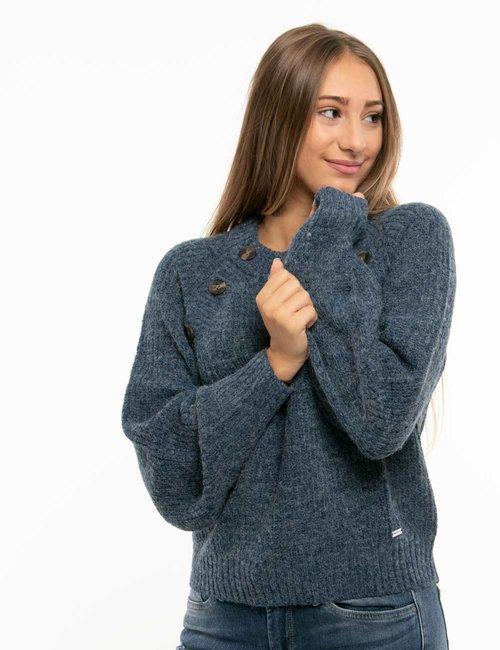 Maglione Pepe Jeans con bottoni - Blu