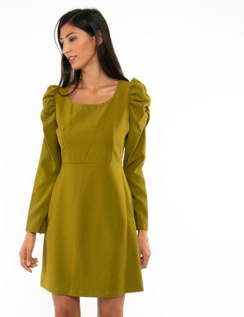 Vestito Fracomina con maniche arricciate - Verde