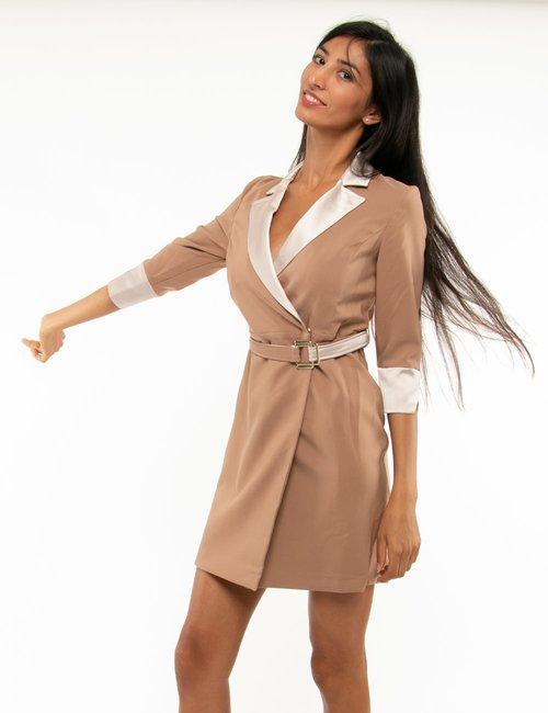 Cappotto Fracomina in tessuto leggero - Beige