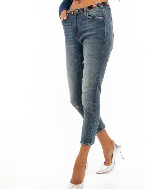 Jeans Fracomina con applicazioni - Jeans