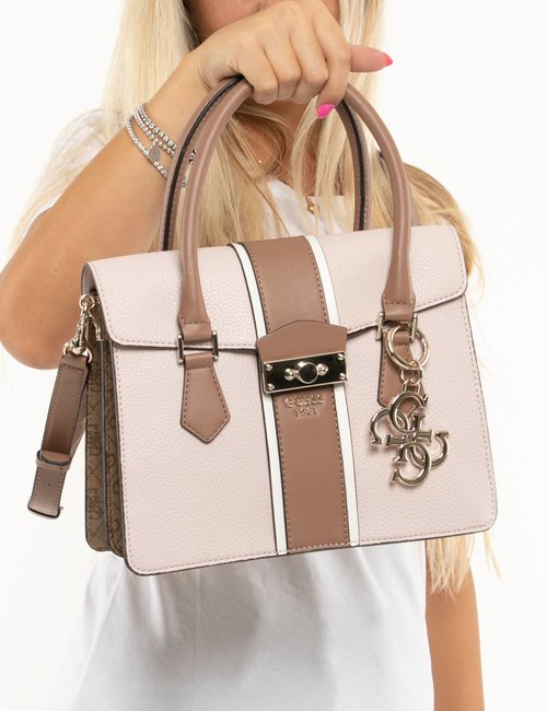 Borsa Guess in ecopelle - Rosa