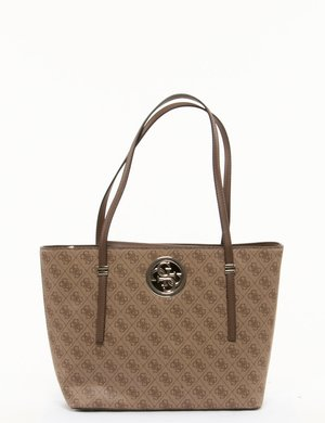 Borsa Guess logo all-over