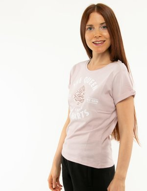 T-shirt Imperfet con paillettes