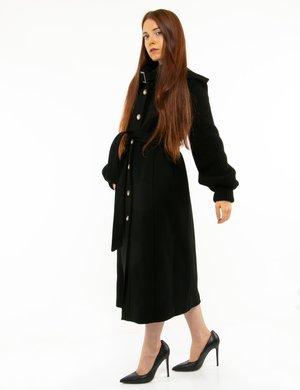 Cappotto Manila Grace con maniche in maglia