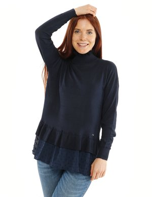 Maglione Yes Zee con volant