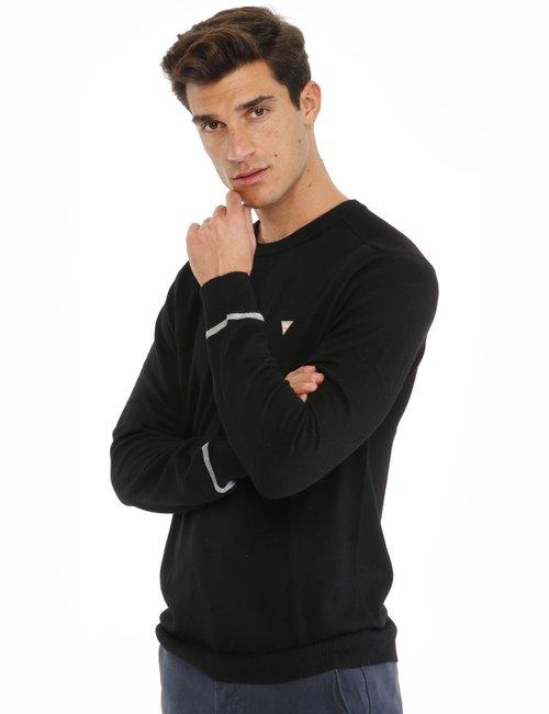 Maglione Guess girocollo - Nero