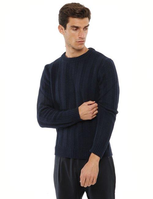 Maglione Liu Jo girocollo - Blu