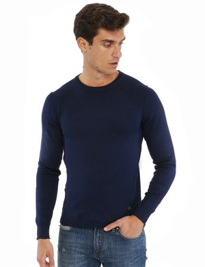 Maglione Yes Zee con cuciture in rilievo