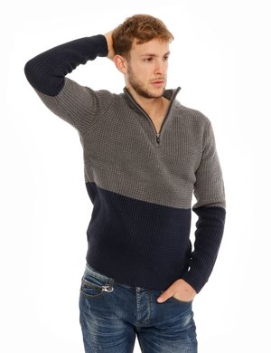Maglione Yes Zee con zip