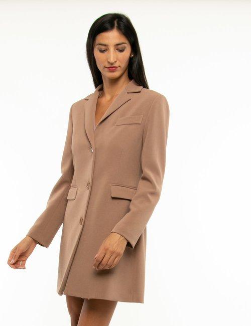 Cappotto Vougue in tessuto leggero - Marrone