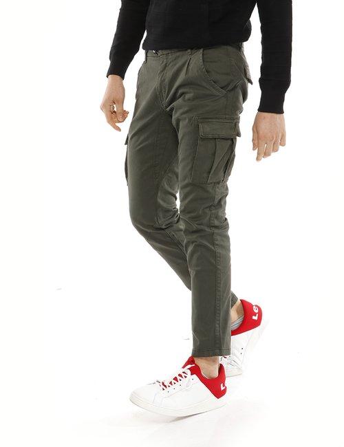 Jeans Yes Zee cargo - Verde