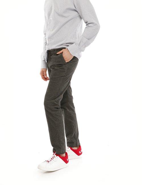 Pantalone Yes Zee microfantasia - Grigio