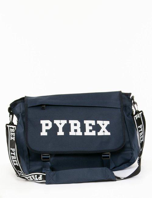 Tracolla Pyrex con logo - Blu