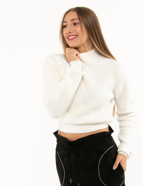 Maglione Pepe Jeans Dua Lipa - Bianco