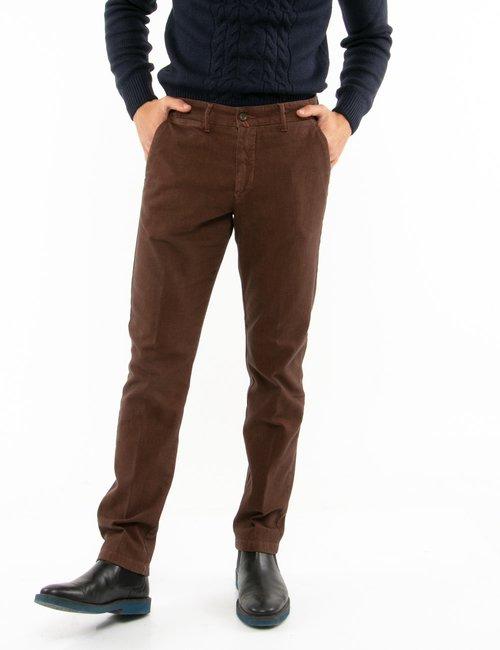 Pantalone Asquani cinque tasche - Marrone