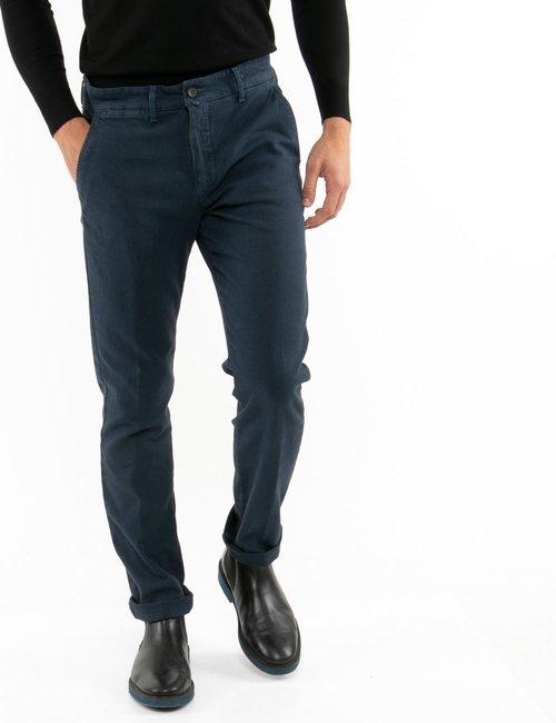 Pantalone Asquani cinque tasche - Blu
