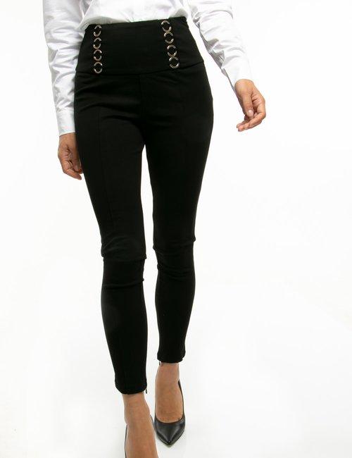 Pantalone Guess con anelli - Nero