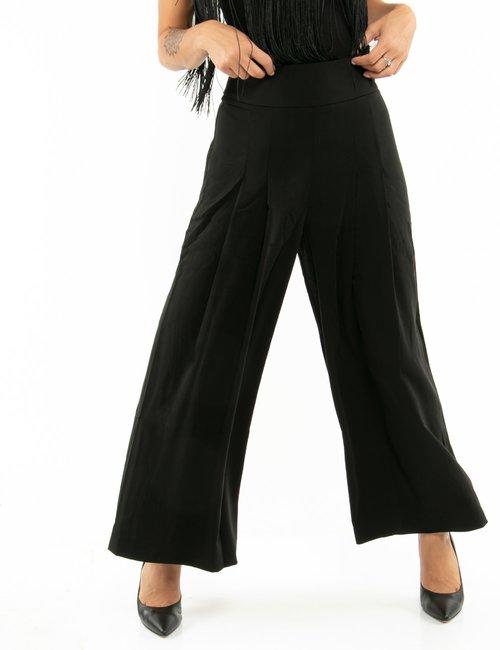 Pantalone Guess con pieghe - Nero