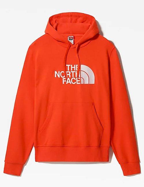 Felpa The North Face con cappuccio - Arancione