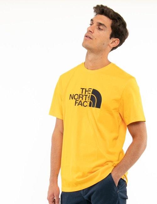 T-shirt The North Face con logo stampato - Giallo