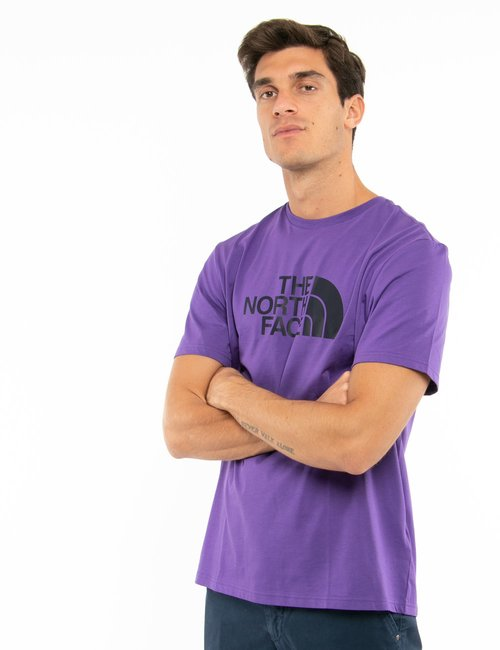 T-shirt The North Face con logo stampato - Viola