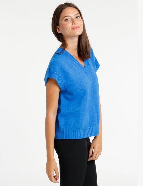 Maglione Rue De Clerie senza maniche - Blu