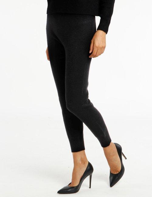 Pantalone Rue De Clerie in maglia - Nero