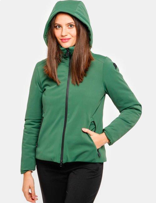 Piumino Invicta con cappuccio rimovibile - Verde