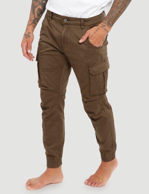 Pantalone Gas con tasconi - Marrone
