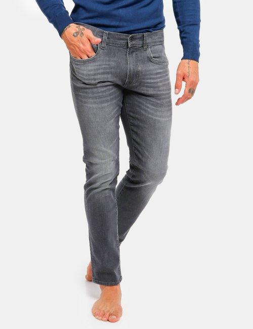 Jeans Gas effetto consumato - Grigio