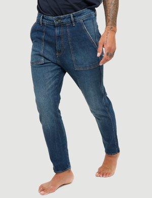 Jeans Gas con impunture