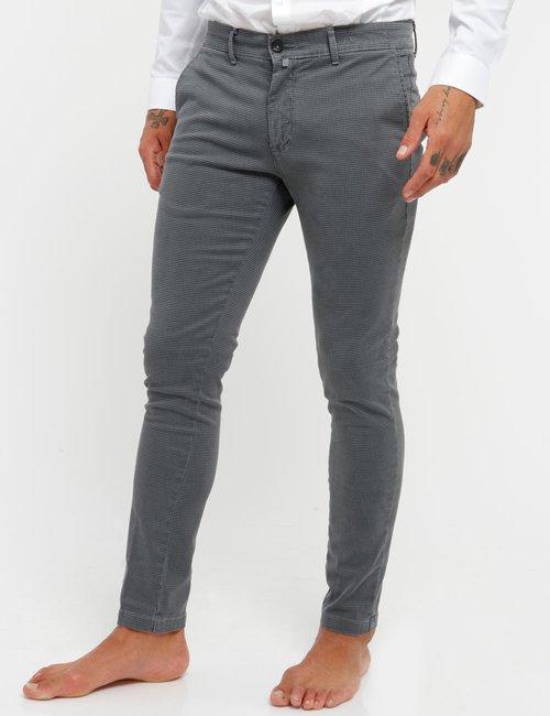Pantalone Asquani microfantasia - Grigio