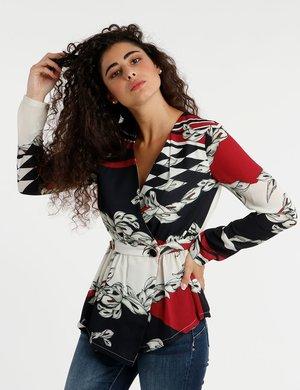 Camicia Fracomina con bottoni decorati