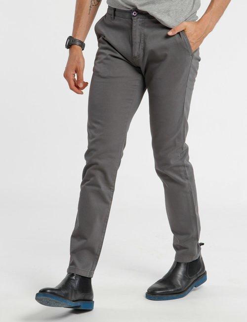 Pantalone Fred Mello con tasche - Grigio