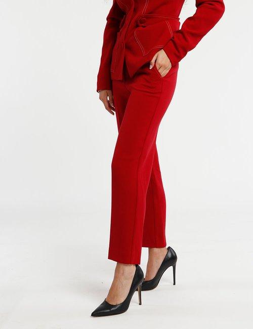 Pantalone Fracomina con tasche - Rosso