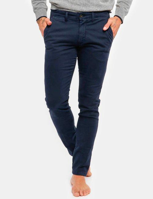 Pantalone Asquani con tasche - Blu Scuro